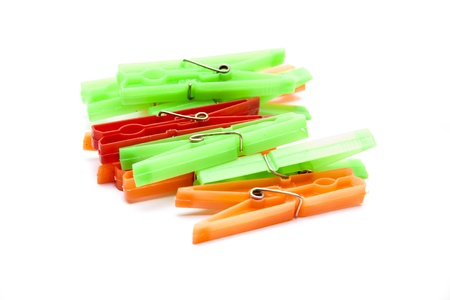 Stable clothes pegs Stock Photo - 17310516