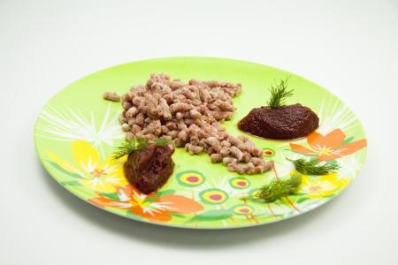 carne picada: Fresca picada