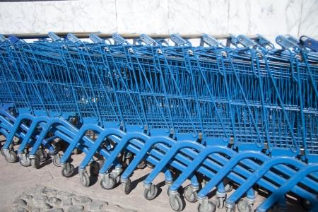 shopping carts: Shopping carts
