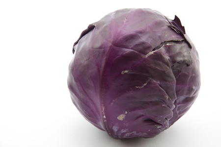 red cabbage:  Red cabbage