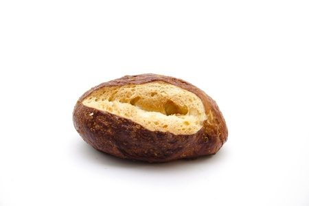 lye:  Fresh lye bread rolls Stock Photo