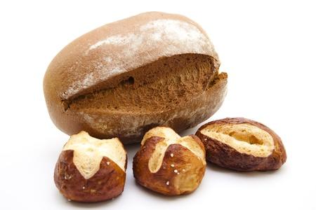 lye:    Fresh lye bread rolls