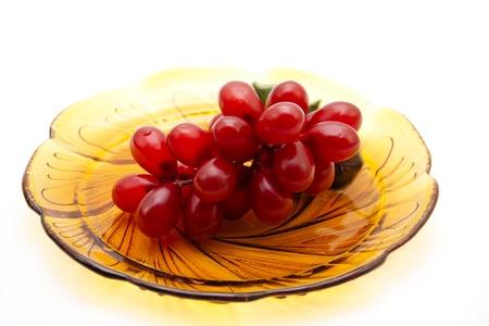 uvas vino: Uvas de vino tinto Foto de archivo
