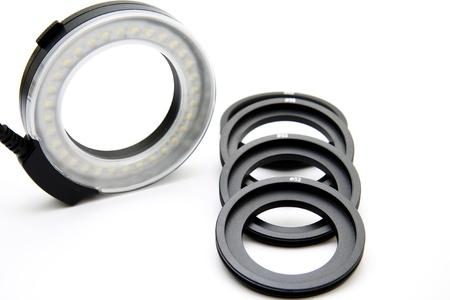 ring flash: Ring flash Stock Photo