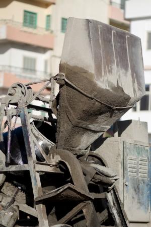 Concrete mixing machine Stock Photo - 23367008