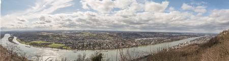 purely: Panorama k�ln K�nigswinter