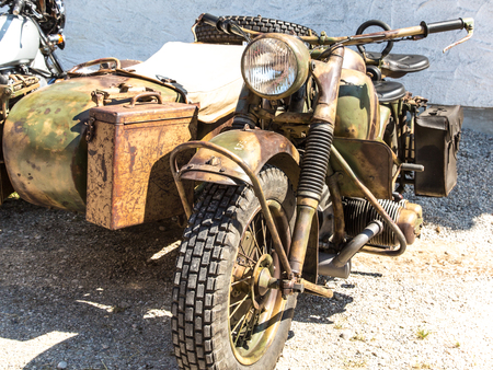 sidecar: Motorcycle with Sidecar