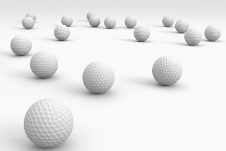 Golf ball: Un fondo de pelota de golf, pelotas de ir a la distancia
