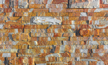 red Slate Stone Wall background Texture