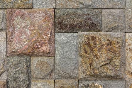 Stone wall texture, travertine tiles facing