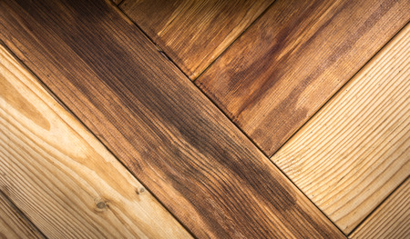 Brown wood plank wall texture background close up
