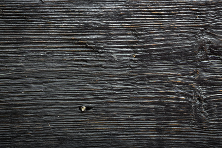 Black wood wall background for design and decoration