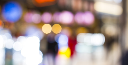 Blur store with bokeh Use As background