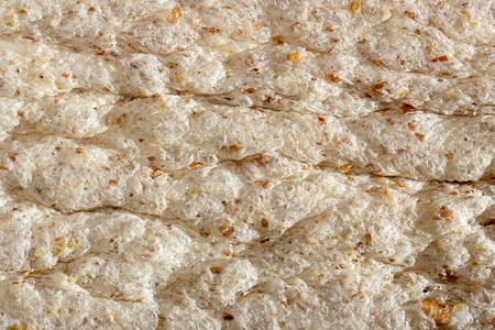 Dietary crispy bread texture macro closeup Stok Fotoğraf