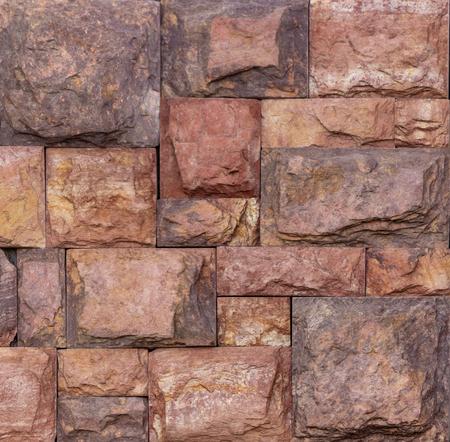 Wand aus hochwertigem Travertin oder Thermolith. Leer für Hintergrund- oder Kacheltextur Standard-Bild