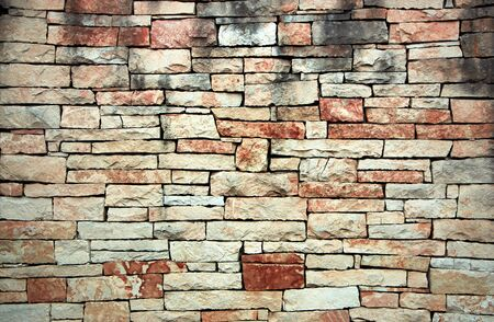 gabion is an ancient cobblestone stone wall built without the use of cement. 写真素材