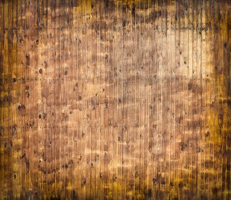 Orange wood texture, pine boards, texture or background.