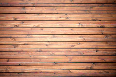 Wood texture, old yellow textured boards. Background 免版税图像