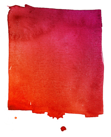 aquarelle: rouge fond d'aquarelle