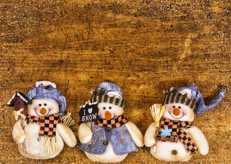 cristmas card: Christmas decorative composition on wooden background.