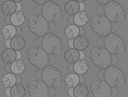 grey: Seamless pattern, grey roses