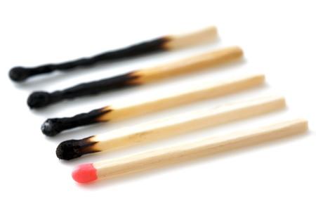 Cinque partite, bruciato - risorse sprecate