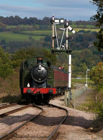 Steam Train crossing signal