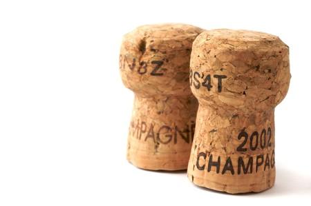 Due tappi di champagne
