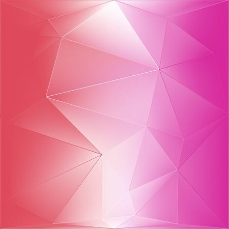 illustration: Polygon abstract background illustration design