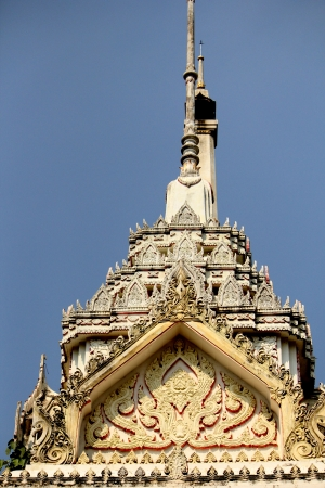 tunable: Crematorium in buddhism style in Thailand Stock Photo