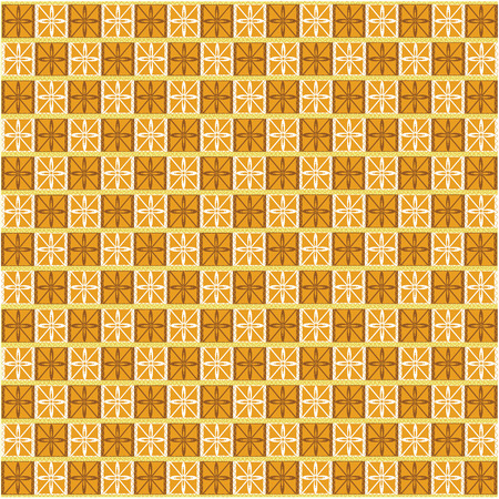 yellowish: Yellowish brown geometric patterned background.