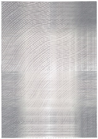 brushed aluminum: Silver background with shadows and lines.