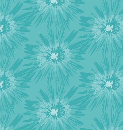 Ikat patterned batik design of blue.
