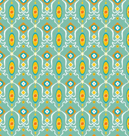 복고풍 원활한 기하학적 무늬