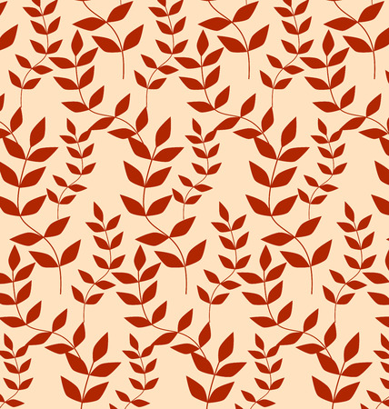 Forms a seamless pattern of red leaves.
