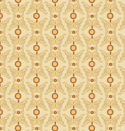 A retro background in pattern.can be used for wallpaper, textures