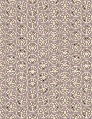 Circular geometry Gray seamless pattern