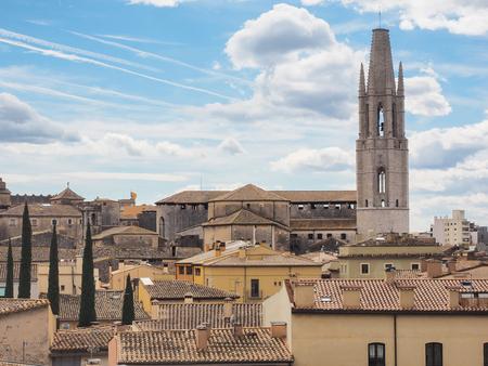 felix: Basilica Sant Feliu, Girona, Spain