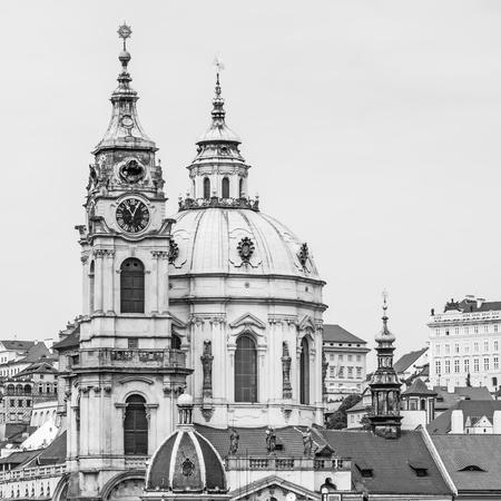 Church of St. Nicholas, Prague, Czechia Stock Photo