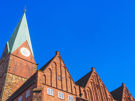 Church St. Martini in the old town of Bremen, Germany Stockfoto