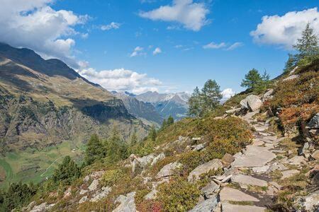 Passeier Valley, Italian Alps, Sooth Tyrol, near mountain village Pfelders