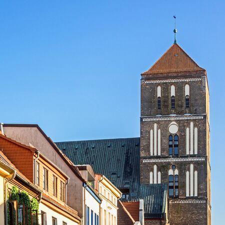 St. Nicolai church at Rostock, Germany Editorial
