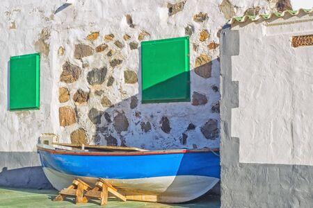 fishing boat at Fuerteventura