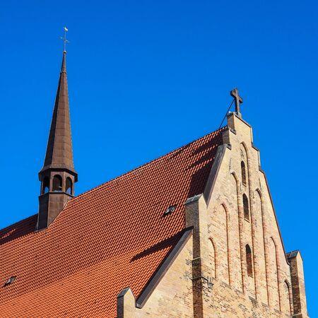 Abbey of the Holy Cross, Rostock, Germany Standard-Bild