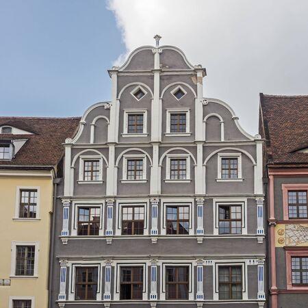 historic building in the old town of Goerlitz, Germany Standard-Bild