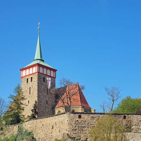 Church of St. Michael in city Bautzen, Saxony, Germany