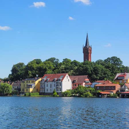Cityscape of Feldberg at lake