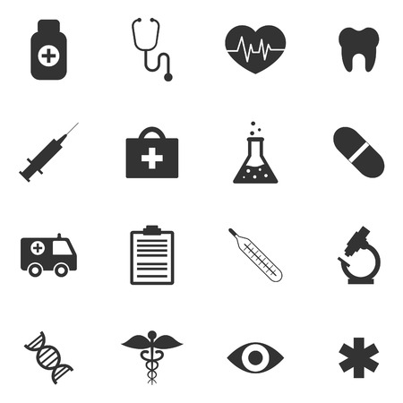 Medical icons Stock Illustratie