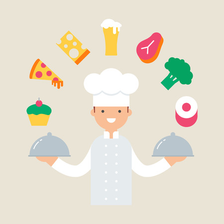 Chef vector illustration Illustration