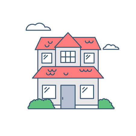 residential home: House vector icon